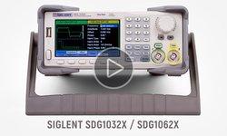 Відеоогляд двоканальних генераторів сигналів серії SIGLENT SDG1000X