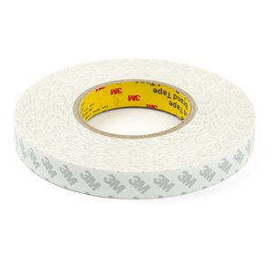 Double-sided Adhesive Tape 3M, (0,07 mm, 20 mm, 50m, for sensors/displays sticking)