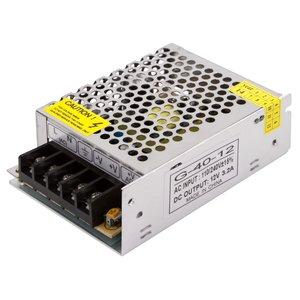 LED Strip Power Supply 12 V, 3.2 A (40 W), 110-220 V
