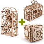 """Rompecabezas mecánico 3D UGEARS """"Colección Premium"""""""
