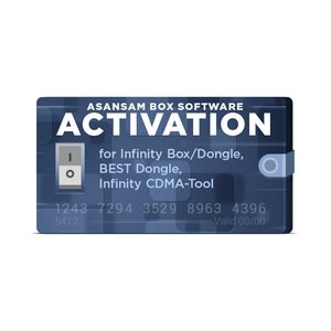 Активация AsanSam Box для Infinity Box / Dongle, BEST Dongle, Infinity CDMA-Tool
