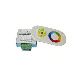 Контроллер c тачпультом HTL-022 (RGB, 5050, 3528, 216 Вт)