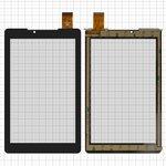 """Сенсорный экран для China-Tablet PC 7""""; Prestigio MultiPad 7.0 Color 2 3G (PMT3777), 7"""", 181 мм, 111 мм, 30 pin, емкостный, черный, #PB70A2616"""