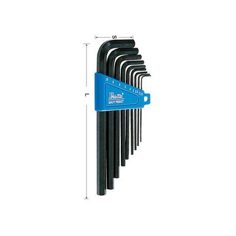 Набор шестигранных ключей Pro'sKit 8PK-024