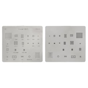 BGA-трафарет P3012 для мобильного телефона Apple iPhone 5, 20 в 1