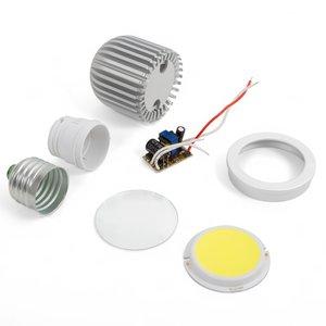Комплект для сборки светодиодной лампы TN-A43 5 Вт (холодный белый, E27)