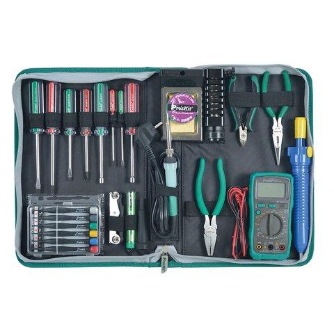 Набір інструментів Pro'sKit 1PK-616B для електромонтажу