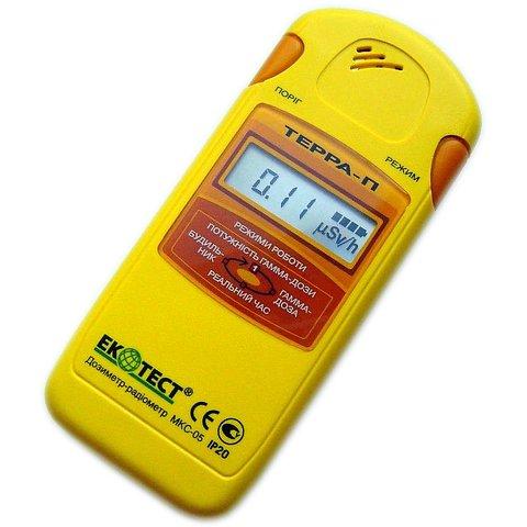 Дозиметр радиометр EcoTest TERRA P MKS 05