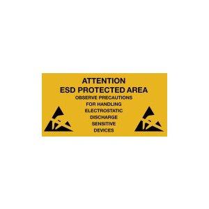 Warmbier 2850.300500.KS.E Предупреждающие наклейки об антистатической безопасности (1 шт.)