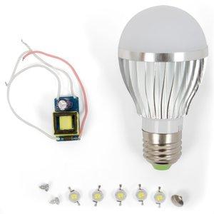 Комплект для збирання світлодіодної лампи SQ-Q02 5 Вт (теплий білий, E27)