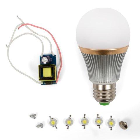 Комплект для збирання світлодіодної лампи SQ Q22 5 Вт холодний білий, E27