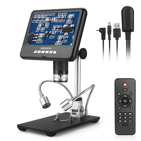 Цифровий USB мікроскоп з дисплеєм Andonstar AD207