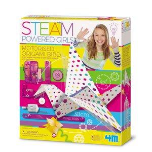 STEAM-набір для дівчаток 4M Пташка-технооригамі 00-04903