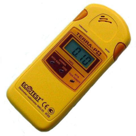Radiation Detector EcoTest TERRA P+ MKS 05