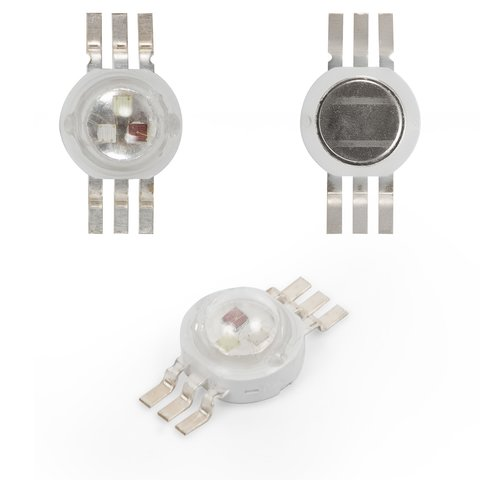 LED 3 W RGB, 6 pin, 350 mA