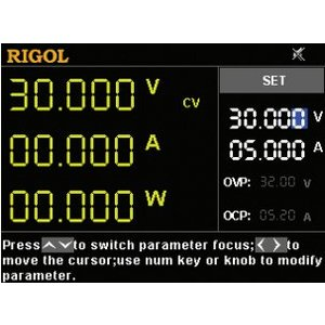 Resolution option RIGOL HIRES-DP700 for RIGOL DP700 series